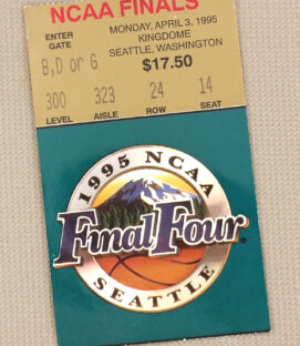 1995 NCAA Final Four Ticket Stub