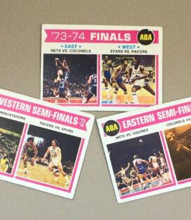 1973-74 ABA Playoff Matchup Collectors Card Set