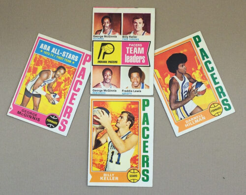 1974-75 Indiana Pacers Collectors Card Set