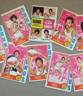 1974-75 Memphis Sounds Collectors Card Set