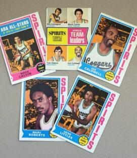 1974-75 Spirits of St Louis Collectors Card Set