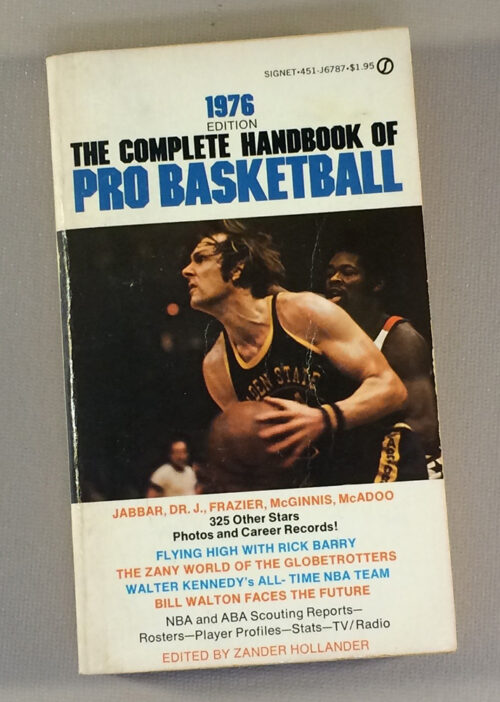1976 The Complete Handbook of Pro Basketball