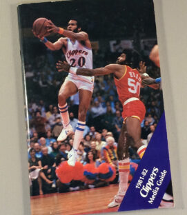 San Diego Clippers 1981-1982 Media Guide