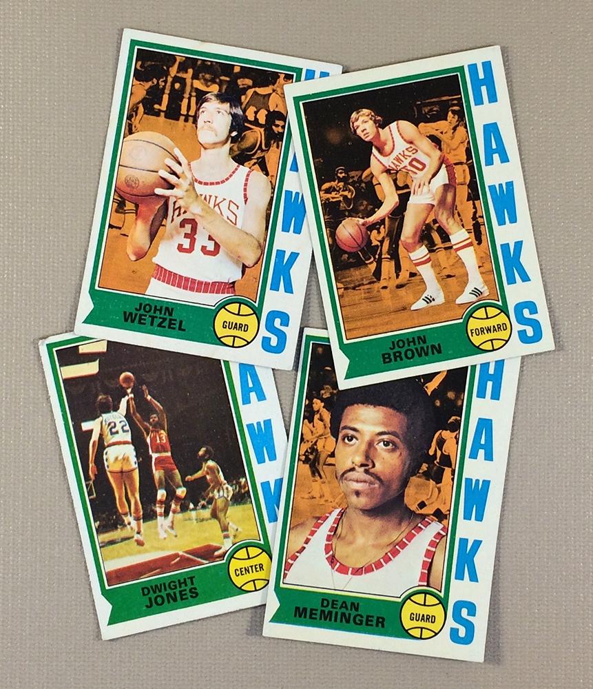 1974-75 Atlanta Hawks Collectors Card Set