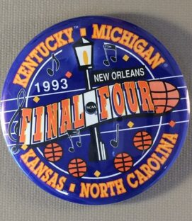 NCAA Final Four 1993 Button