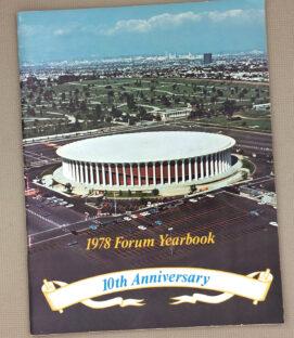 The Fabulous Forum 10 Year Anniversary Yearbook