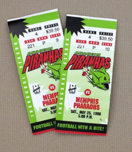 Anaheim Piranhas Tickets