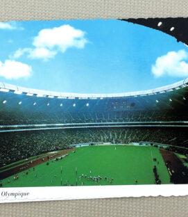 Montreal Olympic Stadium Postcard