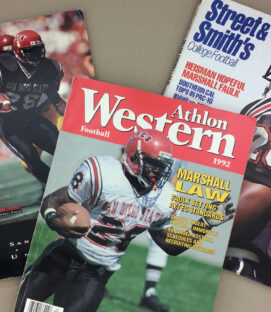 Marshall Faulk SDSU Magazines