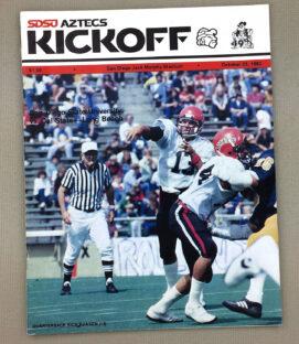 SDSU LBSU 1982 Football Program