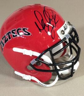 SDSU Marshall Faulk Autographed Mini Helmet