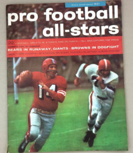 Pro Football All-Stars Magazine 1957