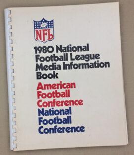 NFL 1980 Media Information Guide