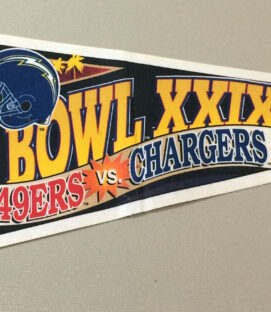 Super Bowl XXIX Pennant