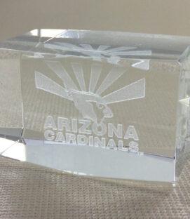 Arizona Cardinals Logo Crystal