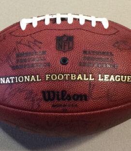 Autographed NFL Football