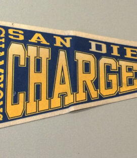 San Diego Chargers 1994 AFC Champions Pennant