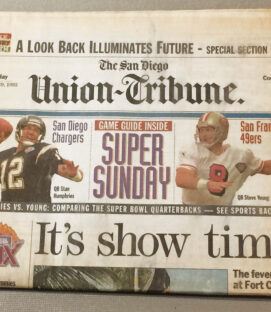 San Diego Union 1995 Super Bowl Edition