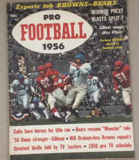 Pro Football 1956 Annual