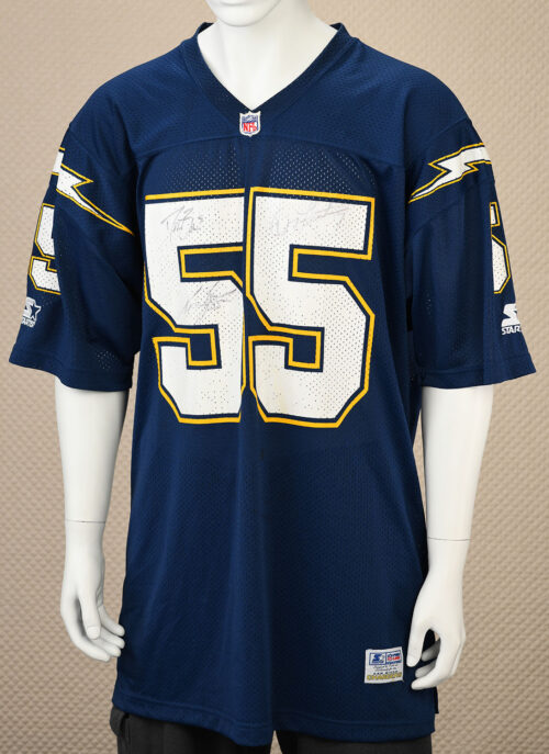 San Diego Chargers Junior Seau Autographed Jersey