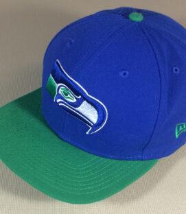 Seattle Seahawks Old School Logo Cap