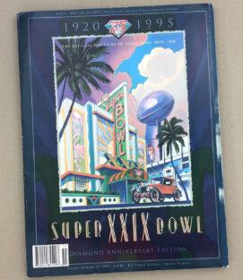 Super Bowl XXIX Program