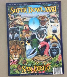 Super Bowl XXXII Program