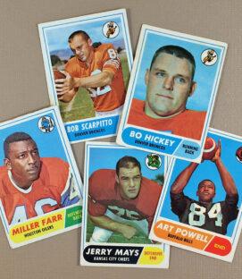 1968 AFL Collectors Card Set