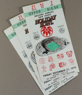 Holiday Bowl 1979 Tickets