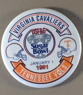 Sugar Bowl 1991 Button