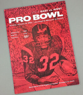 1963 Pro Bowl Game Program