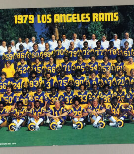 Los Angeles Rams 1979 Team Photo