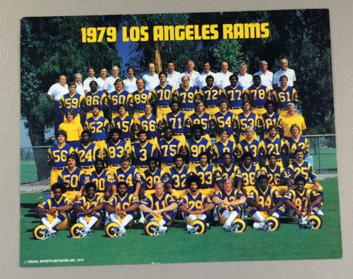 Los Angeles Rams 1979 Team Photo