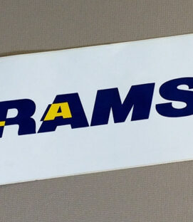 Los Angeles Rams Bumper Sticker