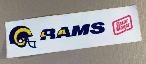 Los Angeles Rams Bumper Sticker