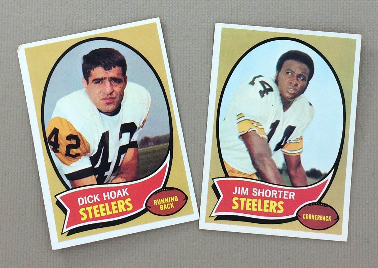 Pittsburg Steelers 1970 cards