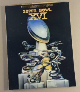 1982 Super Bowl XVI Program