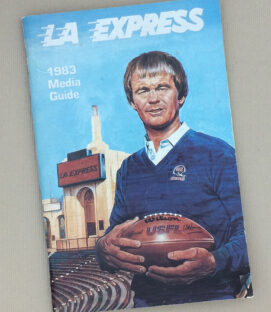 Los Angeles Express 1983 Media Guide