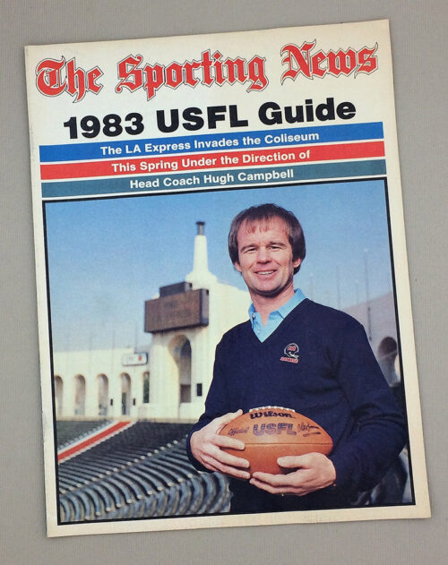 The Sporting News 1983 USFL Guide