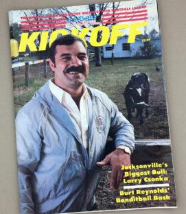 1984 LA Express vs Pittsburgh Maulers Game Program