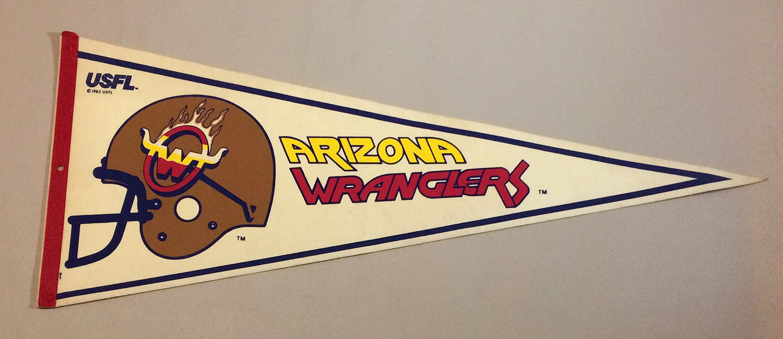 Arizona Wranglers USFL Team Pennant