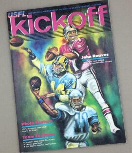 1983 LA Express vs Michigan Panthers Game Program