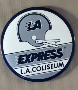 Los Angeles Express Mini Button