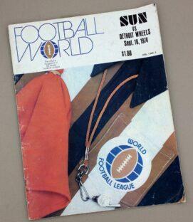 Southern California Sun 1974 Program