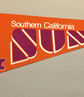 California Sun WFL Team Pennant