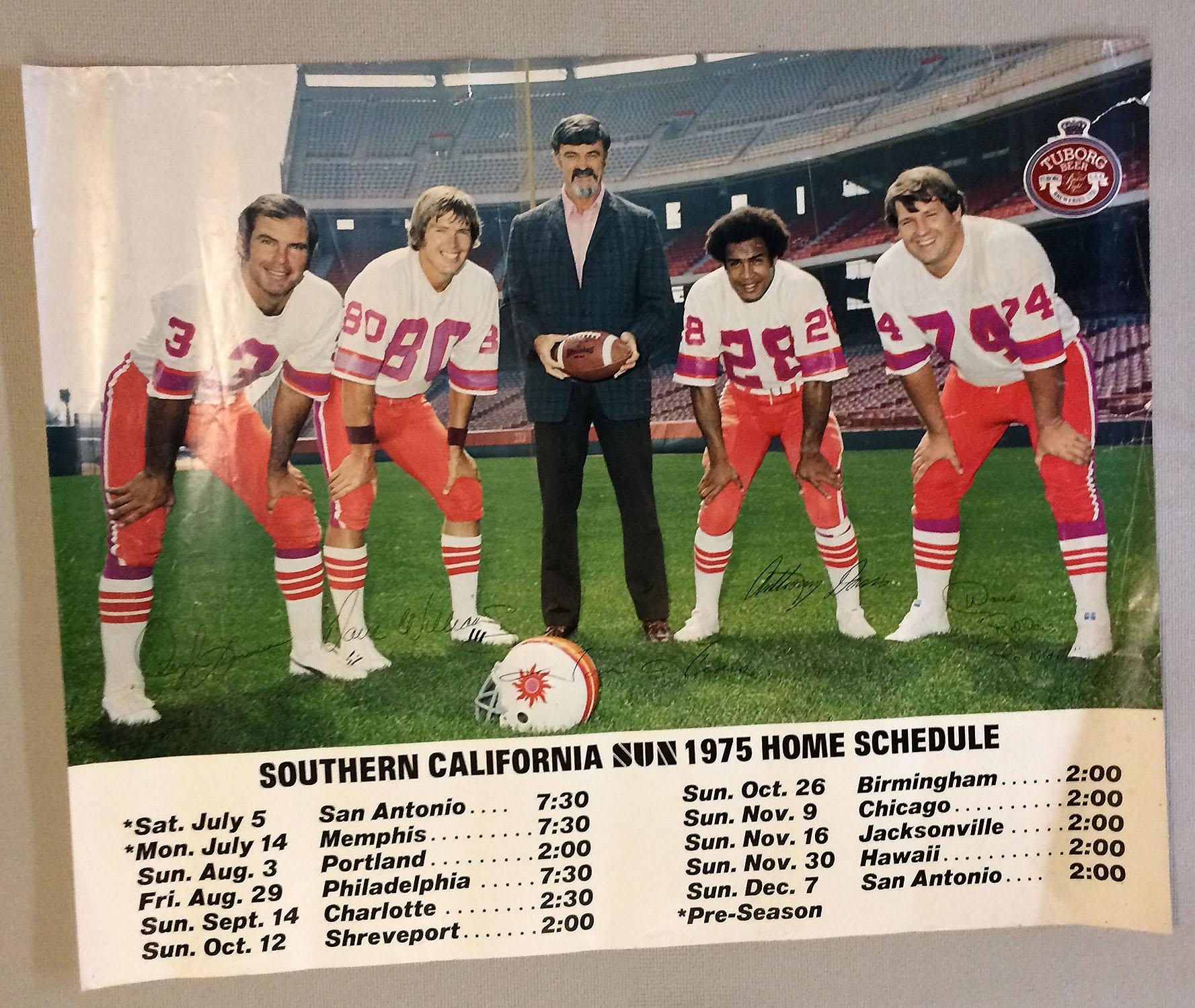 California Sun 1975 Poster Calendar
