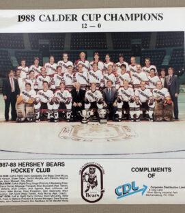 Hershey Bears 1987-88 Team Photo