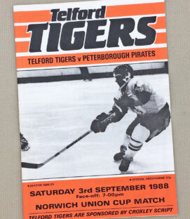 Telford Tigers British Hockey Program