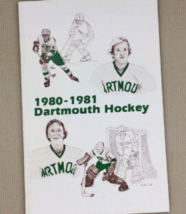1980-81 Dartmouth Hockey Guide