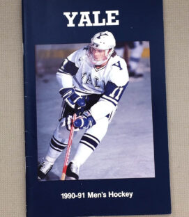 1990-91 Yale Hockey Guide